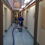 commercial vinyl cleaning